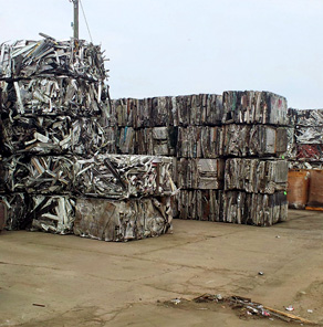 Scrap Yard: Metals We Buy - Sterling Heights MI | Admiral Metals - bales
