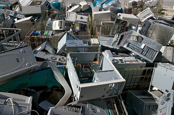 Electronic Recycling Yard Sterling Heights MI | Admiral Metals - landfill